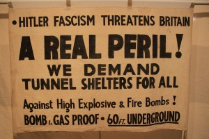 1942 banner, People's History Museum