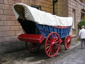 cart at american museum